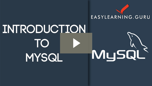 MySQL Online Self-Paced Video Image