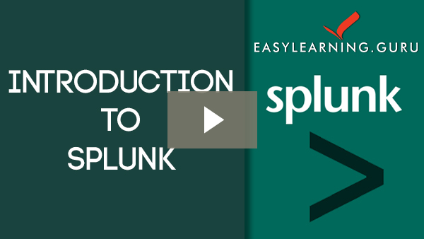 Splunk Self-paced Training Video Image